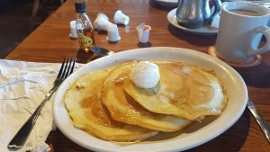 Cracker Barrel pancakes